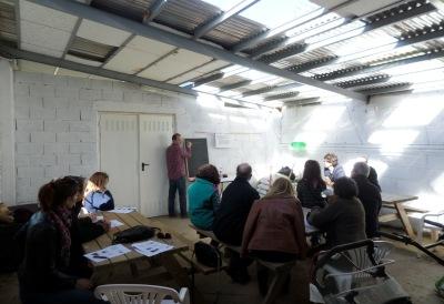 Instalaciones y curso de Iniciación en el Huerto Ecologico