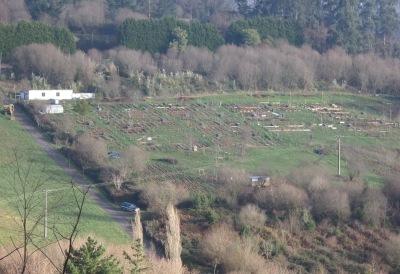 Vista del terreno de Sopelana
